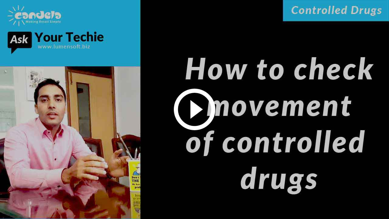 Controlled drug management: How-to-check-movement-of-controlled-drugs