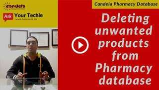 Pharmacy software tutorials: deleting unwanted products from database