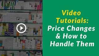 pharmacy software training center: pharmacy-Price-Changes-&-how-to-handle-them