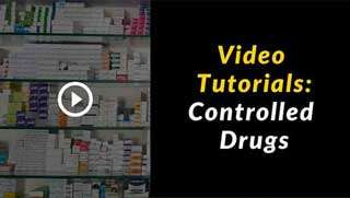 pharmacy software training center: pharmacy-controlled-drugs