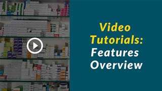 Pharmacy software training center: pharmacy-features-overview